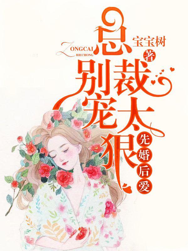 先婚后爱总裁别宠太狠小说 主角是权北晨温心暖的小说